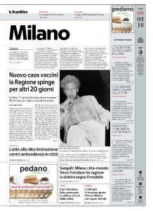 la Repubblica Milano - 9 Marzo 2018