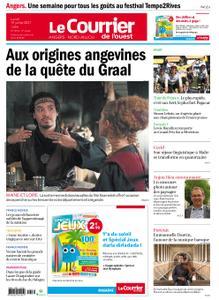 Le Courrier de l'Ouest Angers – 19 juillet 2021