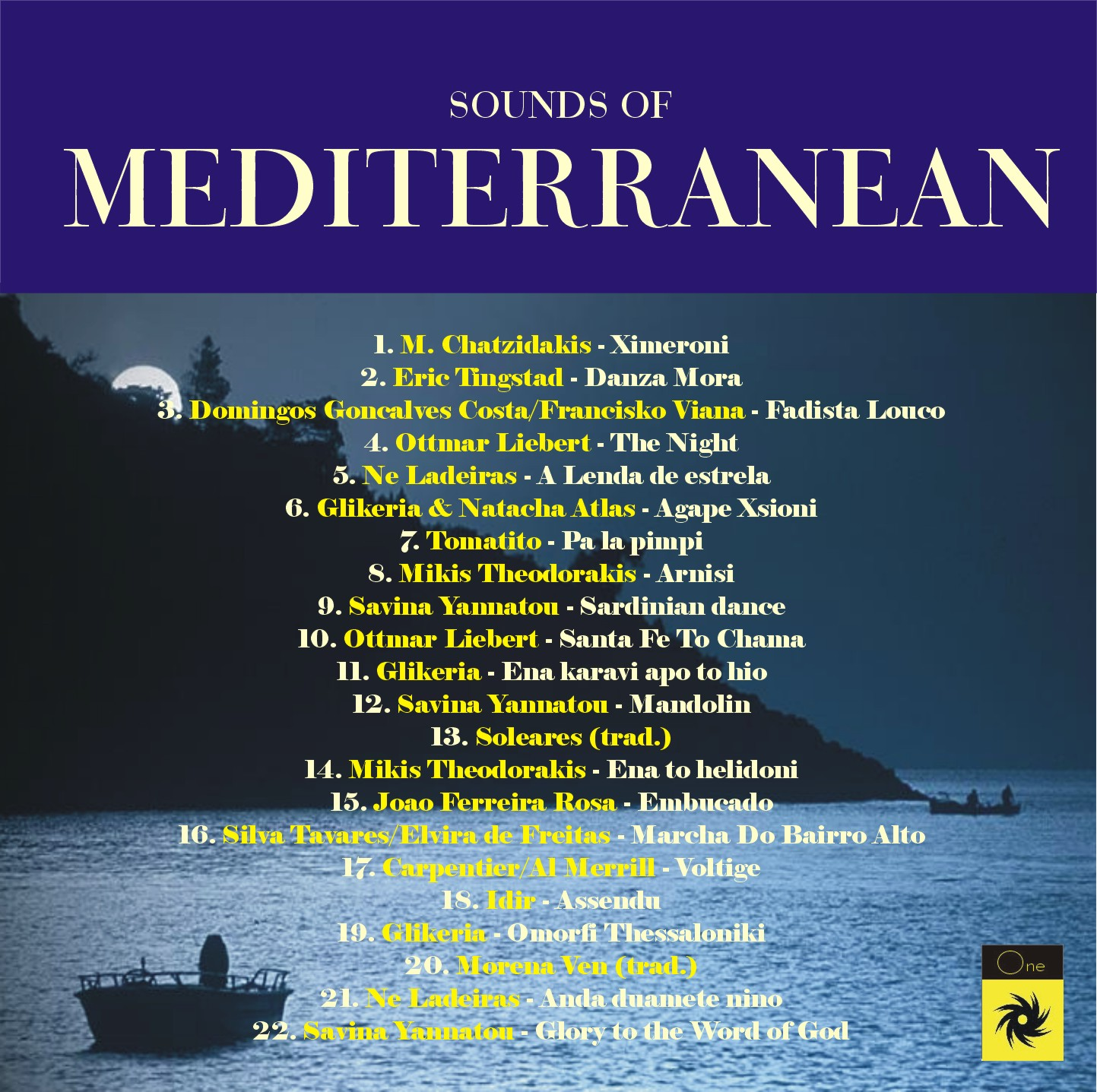 SOUNDS OF MEDITERRANEAN - various artists