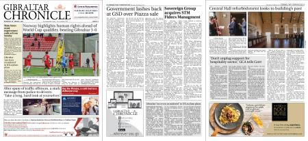 Gibraltar Chronicle – 25 March 2021