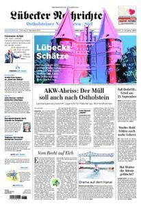 Lübecker Nachrichten Ostholstein Süd - 10. September 2019