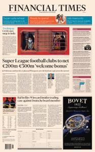 Financial Times Europe - April 20, 2021