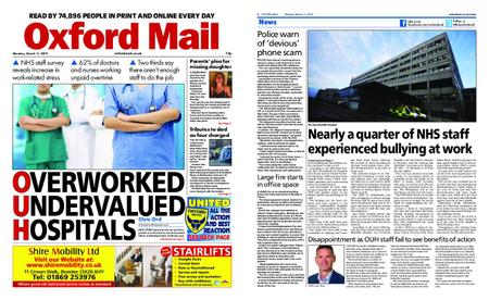 Oxford Mail – March 11, 2019