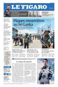 Le Figaro du Lundi 22 Avril 2019