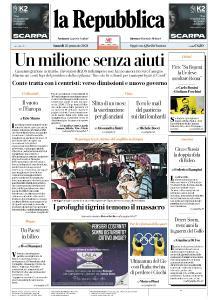 la Repubblica - 25 Gennaio 2021