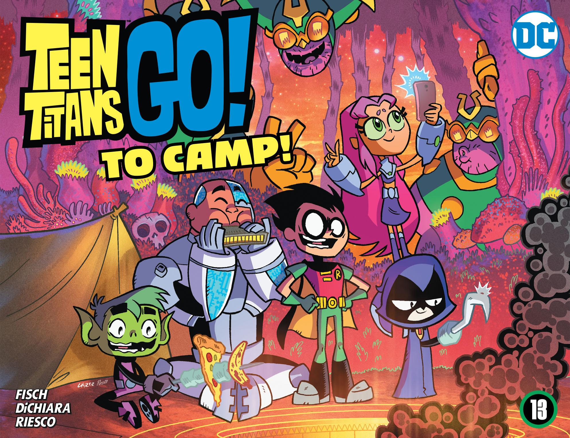 Teen Titans Go! To Camp 013 2020 digital Son of Ultron