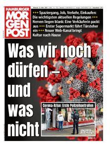 Hamburger Morgenpost – 18. März 2020