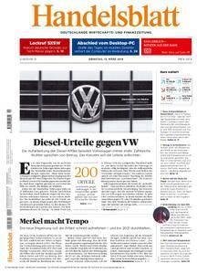 Handelsblatt - 13. März 2018