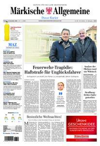 Märkische Allgemeine Dosse Kurier - 14. Dezember 2018