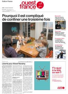 Ouest-France Édition France – 27 janvier 2021