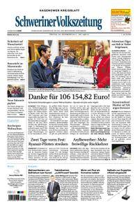 Schweriner Volkszeitung Hagenower Kreisblatt - 22. Dezember 2017