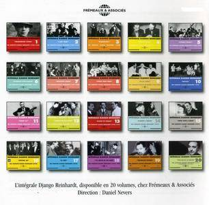 Django Reinhardt - Integrale - La Collection Complete (1928-1953) {20 vols - 40CD - Fremeaux & Associes rel  1996-2005}