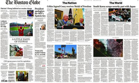 The Boston Globe – August 23, 2019