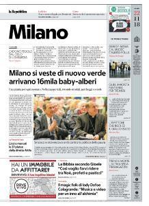 la Repubblica Milano - 22 Novembre 2018