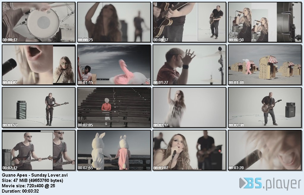 Guano Apes - Sunday Lover (2011)