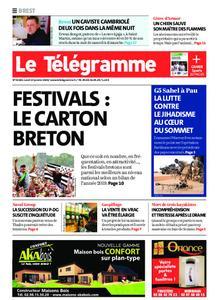Le Télégramme Brest – 13 janvier 2020