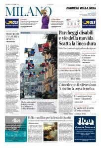Corriere della Sera Milano - 13 Ottobre 2017