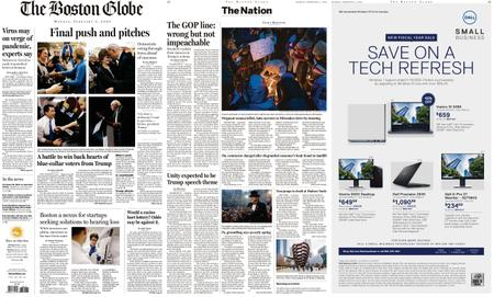 The Boston Globe – February 03, 2020