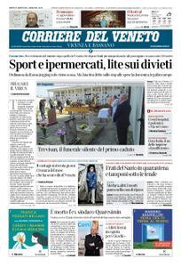 Corriere del Veneto Vicenza e Bassano – 21 marzo 2020
