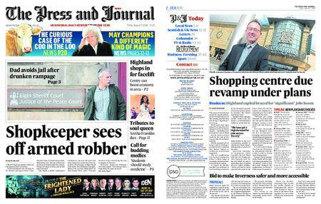 The Press and Journal Moray – August 17, 2018