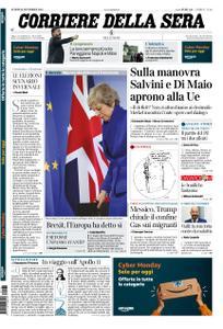 Corriere della Sera – 26 novembre 2018