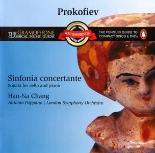 Han-Na Chang, Antonio Pappano, LSO - Prokofiev: Sinfonia Concertante, Sonata for Cello and Piano (2003) Reissue 2008