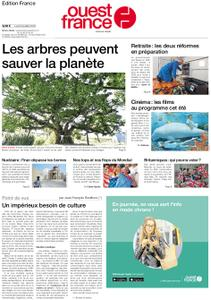 Ouest-France Édition France – 08 juillet 2019