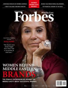 Forbes Middle East English Edition - Issue 96 - August 2020