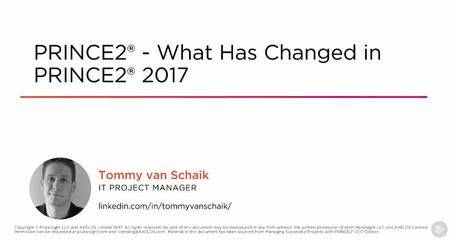 PRINCE2® - What Has Changed in PRINCE2® 2017