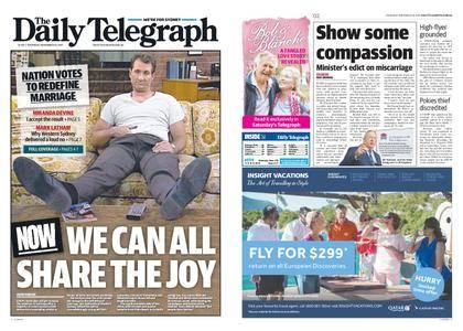 The Daily Telegraph (Sydney) – November 16, 2017