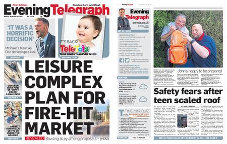Evening Telegraph First Edition – September 16, 2019