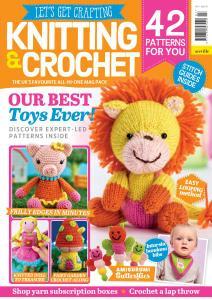 Let's Get Crafting Knitting & Crochet - Issue 107 - December 2018