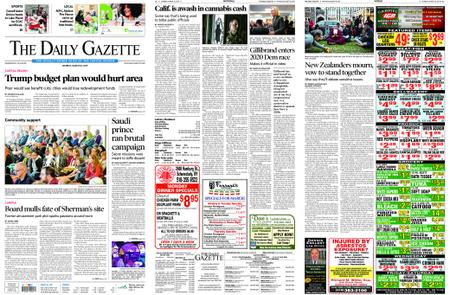 The Daily Gazette – March 18, 2019