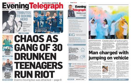 Evening Telegraph First Edition – October 07, 2019