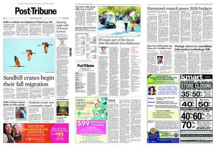 Post-Tribune – October 27, 2019