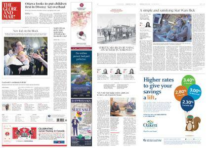 The Globe and Mail – May 23, 2018