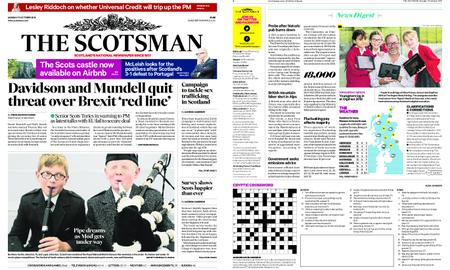 The Scotsman – October 15, 2018