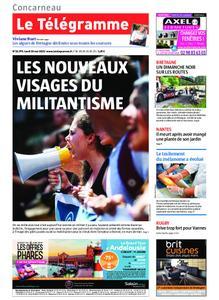 Le Télégramme Concarneau – 20 mai 2019