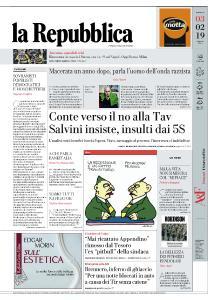 la Repubblica - 3 Febbraio 2019
