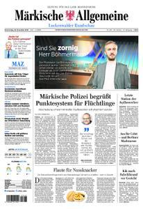 Märkische Allgemeine Luckenwalder Rundschau - 29. November 2018