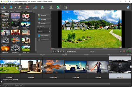 NCH PhotoStage Slideshow Producer Professional 6.19 Beta