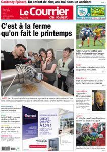 Le Courrier de l'Ouest Angers - 02 mai 2018