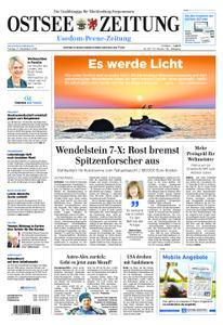 Ostsee Zeitung Wolgast - 21. Dezember 2018