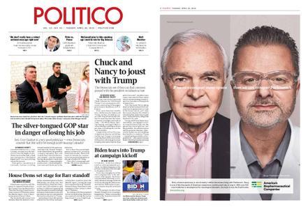 Politico – April 30, 2019