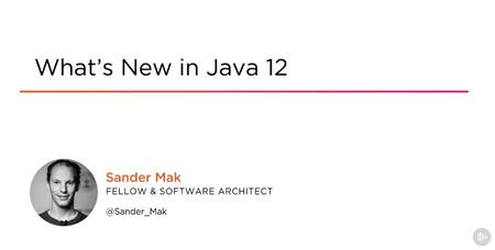What's New in Java 12