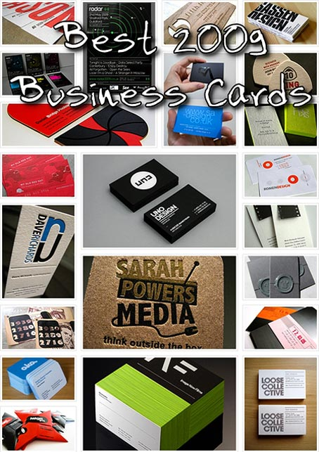 Best 2009 Business Cards