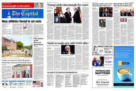 The Capital – July 10, 2018