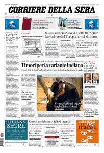 Corriere della Sera - 1 Maggio 2021