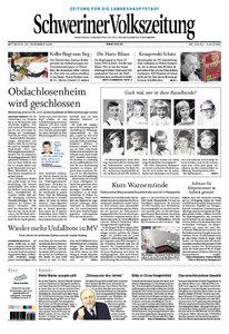 Schweriner Volkszeitung 30.12.2009 (Ausgabe Stadt Schwerin)