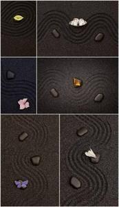 UHQ Photo - Zen black stone